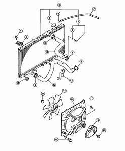 2001 Chrysler Sebring Radiator  Engine Cooling  Magneti