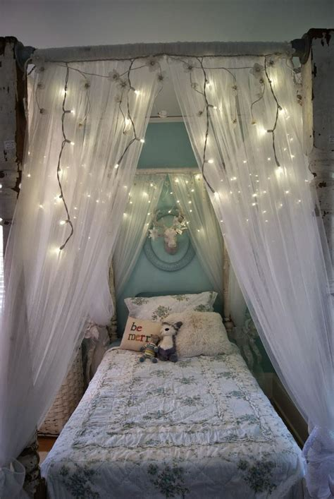 17 best ideas about canopy bed curtains on bed