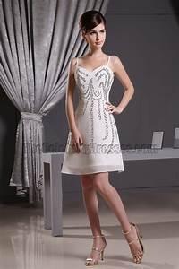 inspried white cocktail dress
