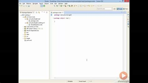 scalding repl with eclipse scala worksheets youtube