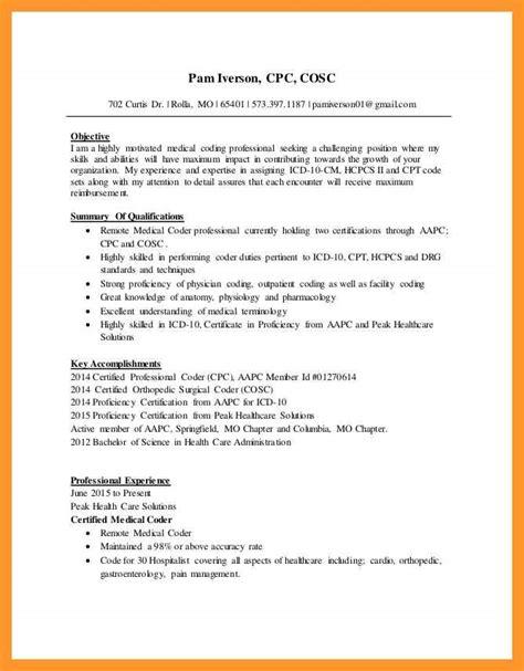 coder resume no experience sop exle