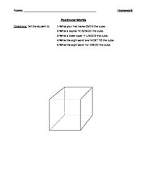 this worksheet asks students to draw pictures above in