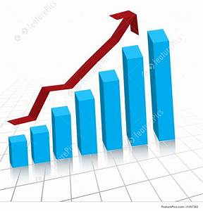 Business Profit Growth Graph Chart Stock Illustration
