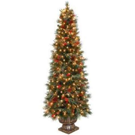 thomasville pine christmas tree pre lit artificial trees from home depot decor