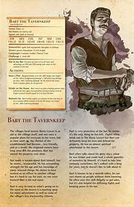 I Made A Monster Manual Page For My Tavern Keep With My