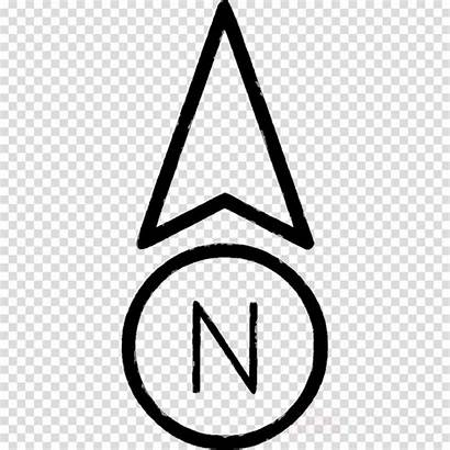 North Arrow Clip Background Symbol Clipart Sign