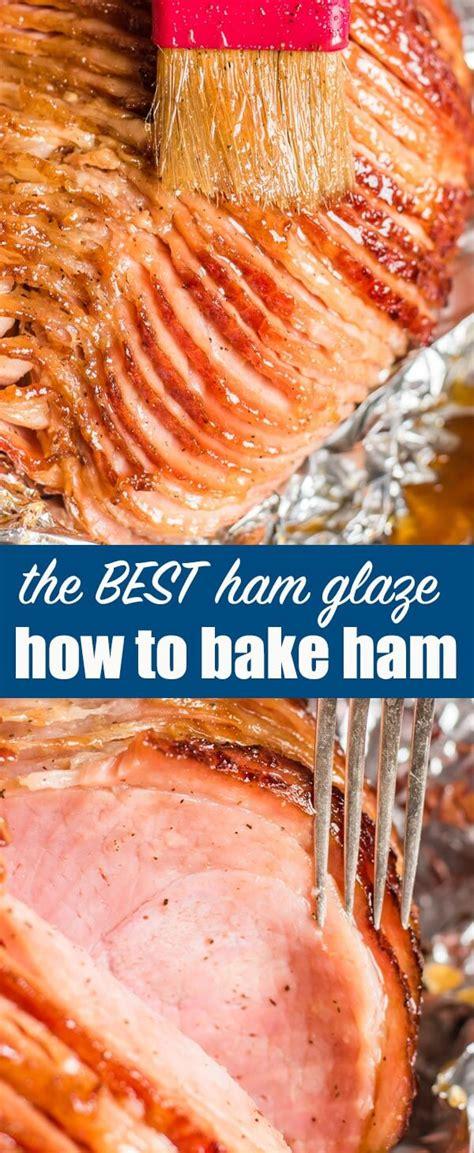 how to bake a ham how to cook a ham easy baked ham and honey ham glaze recipe