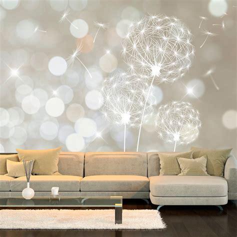 Muster Tapete Wohnzimmer by Vlies Fototapete Tapeten Pusteblume Einrichten Und