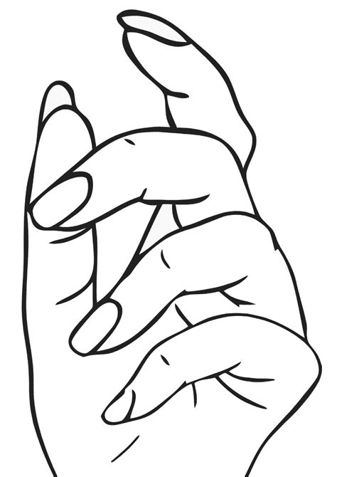 manicure coloring pages coloring pages    print