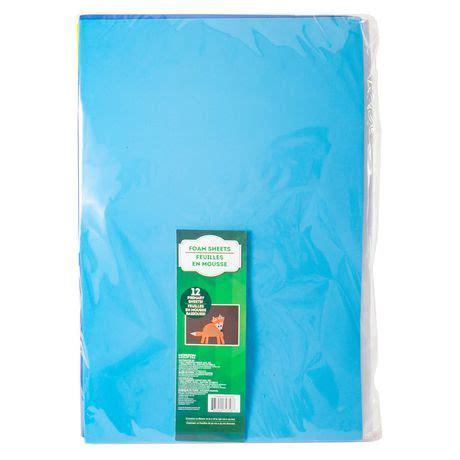 assorted foam sheets walmart canada