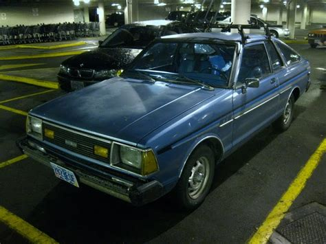 Datsun 210 Hatchback by Parked Cars 1982 Datsun 210 Hatchback