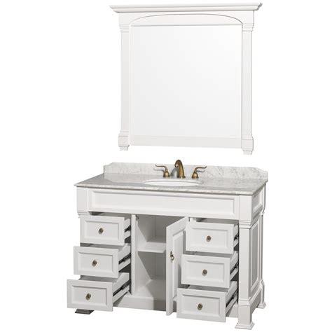 Wyndham Collection Andover 48 Bathroom Vanity by 48 Quot Andover Traditional Bathroom Vanity Set By Wyndham