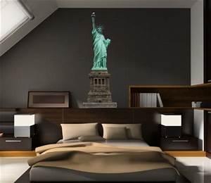 New York Deko : freiheitsstatue wandtattoo new york deko wandsticker liberty wandtattoos ny ~ One.caynefoto.club Haus und Dekorationen