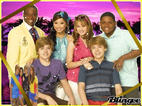the suite life on deck cast picture 112750542 blingee com