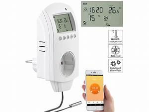 Wlan Thermostat Test : revolt wlan steckdosen thermostat f r heizger te app sprachbefehl sensor ~ Watch28wear.com Haus und Dekorationen