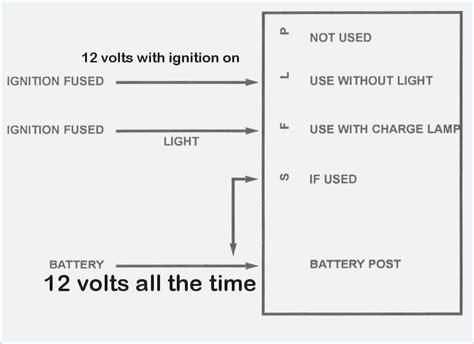 4 wire alternator wiring diagram moesappaloosas