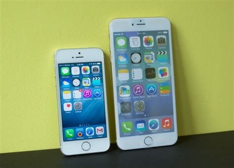 iphone 5s vs iphone 6 iphone 6 vs iphone 5s 5 things to about the big iphone