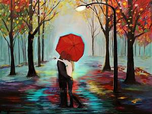 Couple Art Print Couple Painting Couple Wall Art Decor ...