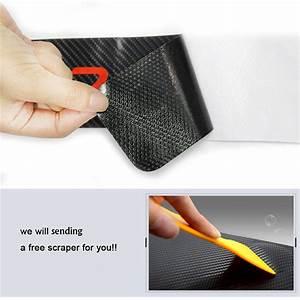 Modele Voiture Plaque : 4pcs plaque de porte de voiture de mod le de fibre de carbone 3d seuil de protection anti ~ Medecine-chirurgie-esthetiques.com Avis de Voitures