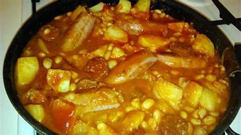 recette de cuisine en espagnol recette de cassoulet espagnol par notre amour de cuisine