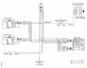 Datsun 1600 Wiper Motor Wiring