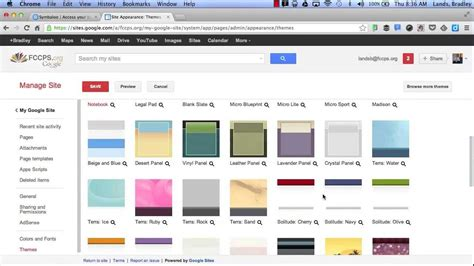 Google Sites Tutorial For Education Youtube