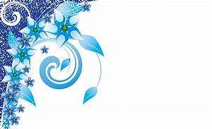 Blue Flower clipart white background powerpoint - Pencil ...