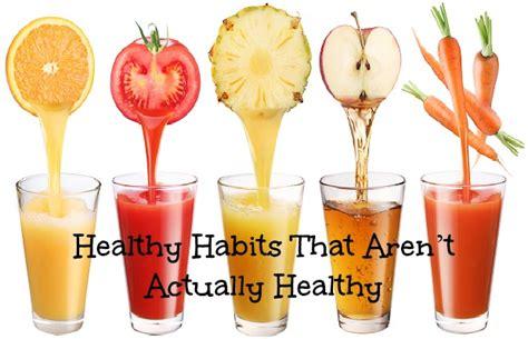 Healthy Habits That Aren't Actually Healthy