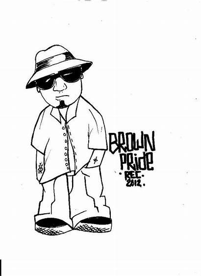 Pride Brown Cholo Mexican Chicano Chola Lowrider