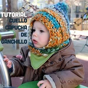 Tutorial Capucha Cuello De Ganchillo Para Beb U00e9s Y Ni U00f1os