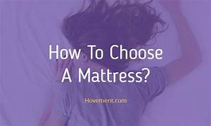 How to choose a mattress hovementcom for How to choose a new mattress
