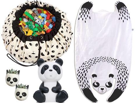 jeu de rangement de chambre un panda chez les minis joli place