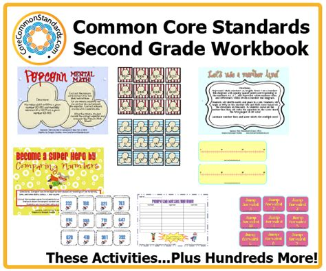 2nd grade 187 common math worksheets 2nd grade