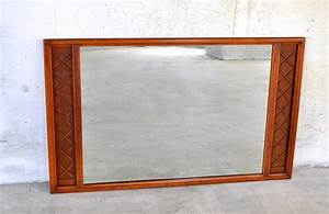 Select, Modern, Large, Mid, Century, Modern, Walnut, Mirror