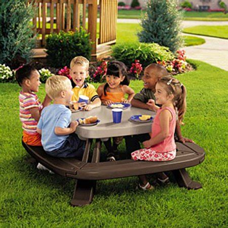 tikes fold  store picnic table assembly
