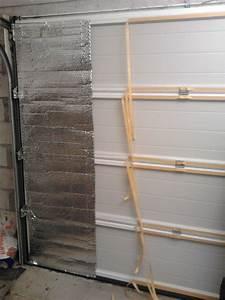 Isoler Une Porte Du Bruit : isoler une porte de garage avec du papier aluminis ~ Dailycaller-alerts.com Idées de Décoration