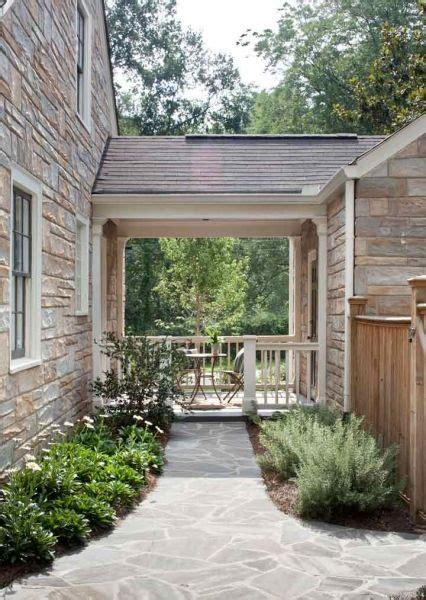 breezeway to garage, but completely enclosed with a wall