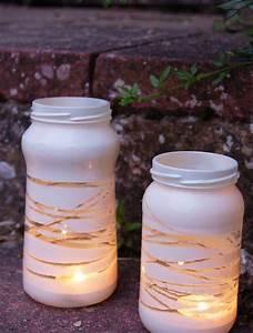 Teelichter Selber Basteln : windlicht im garten 45 kreative bastelideen f r gartendeko ~ Eleganceandgraceweddings.com Haus und Dekorationen
