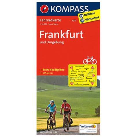Häuser Kaufen Frankfurt Umgebung kompass frankfurt und umgebung radkarte kaufen