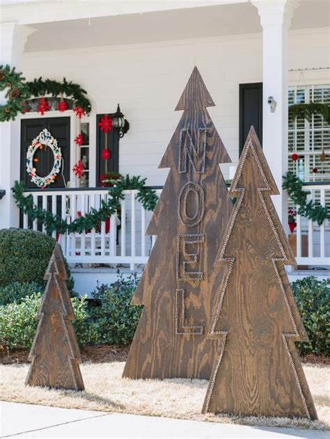 wooden outdoor christmas decorations remodelaholic diy outdoor decor for winter