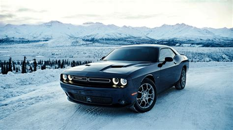Dodge Car : 2017 Dodge Challenger Gt Awd Wallpaper