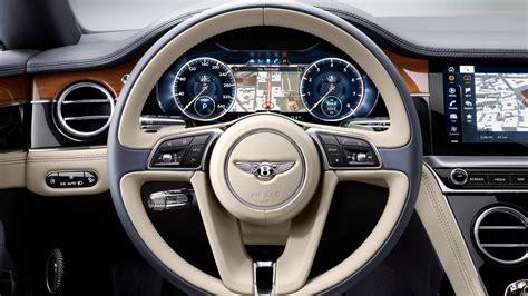bentley continental gt  interior wallpaper hd car