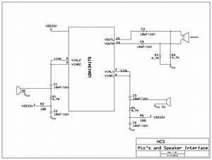 Fig  8 Schematic Diagram Of Interface Of Microphone U0026 39 S And