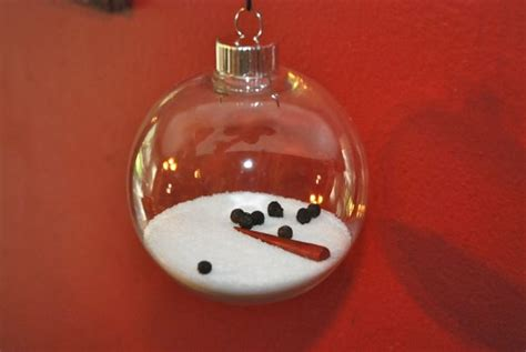 make a melted snowman christmas ornament dollar store crafts