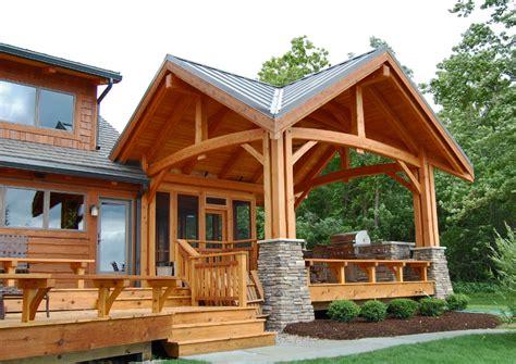 great timberframe patio three season screened porch