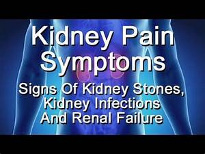 Kidney Pain Symptoms