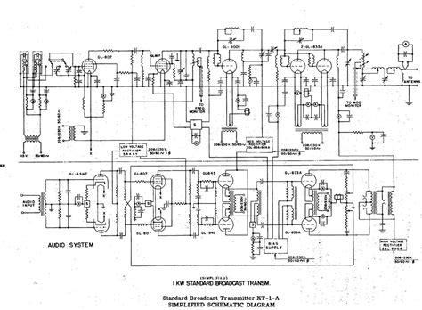 general electric xt    transmitter engineering radio