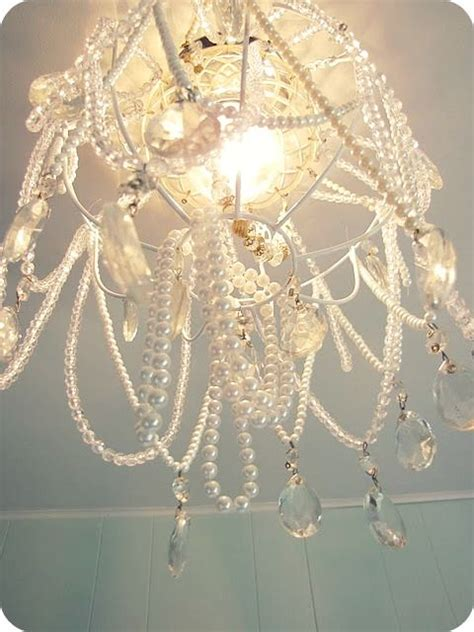 Hanging From The Chandeliers by Diy Chandelier Made From A Dollar Store Hanging Basket