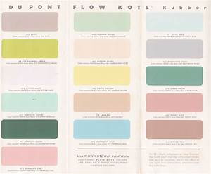 Vintage Goodness 1 0: Vintage Decorating - 1950's Paint