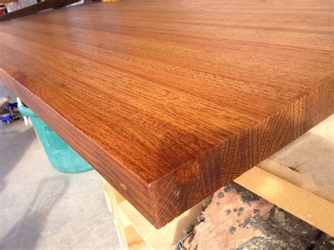 oak countertop reclaimed red oak countertop by porter barn wood lumberjocks com woodworking community